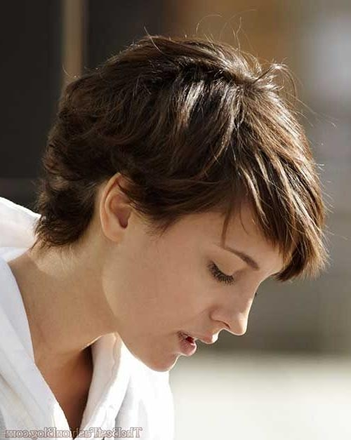 Featured Photo of Short Pixie Haircuts For Thick Wavy Hair