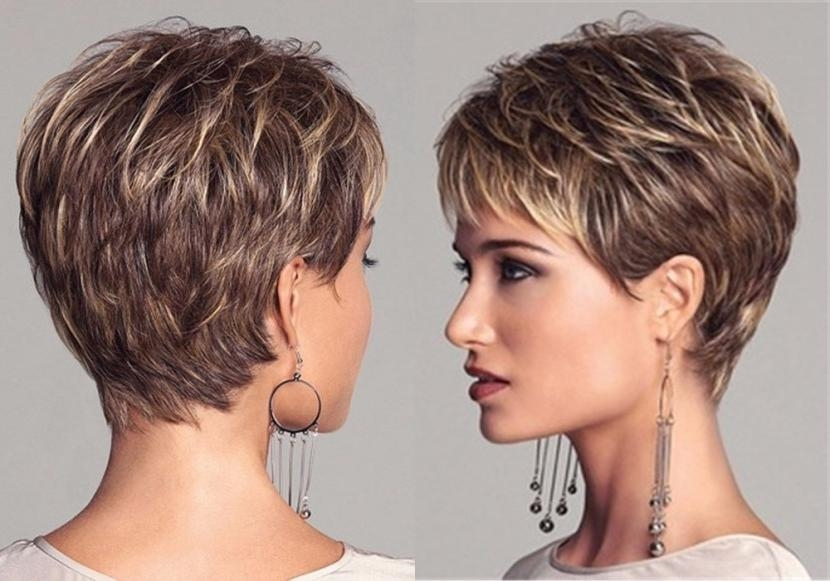 Pixie Cuts: 13 Hottest Pixie Hairstyles And Haircuts For Women Inside Trendy Pixie Haircuts With Highlights (View 9 of 20)