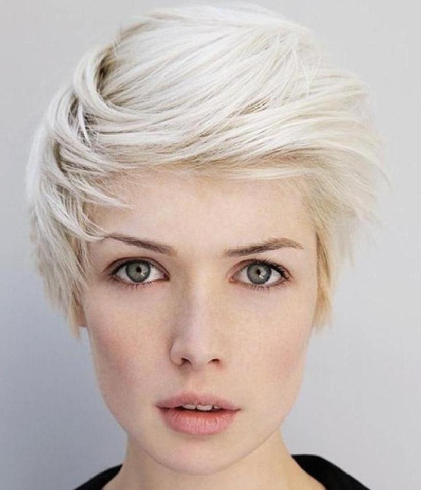 Pixie Cuts: 13 Hottest Pixie Hairstyles And Haircuts For Women With Regard To Latest Platinum Pixie Haircuts (View 14 of 20)