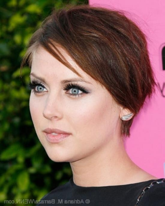 Pixie Cuts, Jessica Stroup Inside Favorite Jessica Stroup Pixie Haircuts (View 8 of 20)