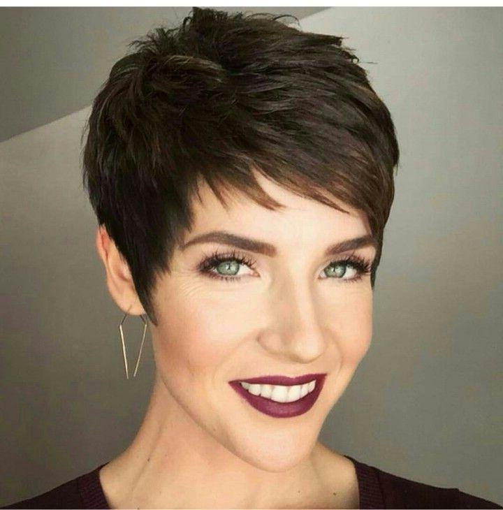 Pixie Cuts Pertaining To Well Known Short Sassy Pixie Haircuts (View 17 of 20)