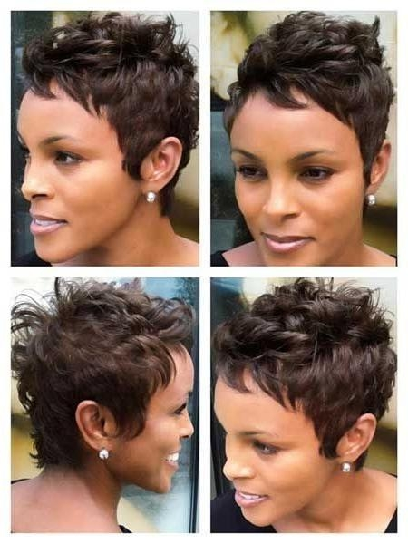 Pixie Haircut For African American Women Intended For Recent African American Pixie Haircuts (Gallery 16 of 20)