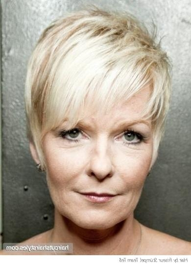 Pixie Haircut For Older Women Pertaining To Well Liked Pixie Haircuts For Older Women (View 20 of 20)