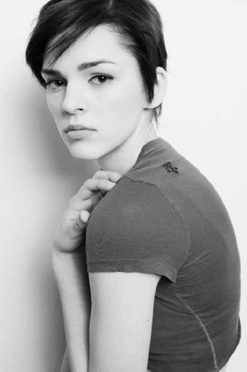 Pixie Haircut Pictures With Most Current Short Pixie Haircuts For Straight Hair (View 9 of 20)