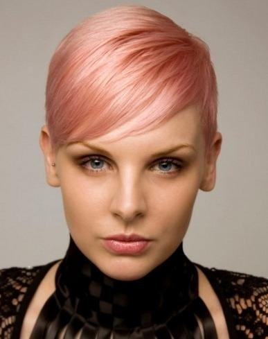 Pixie Haircut Pink – Find Hairstyle With Popular Pink Pixie Haircuts (View 14 of 20)