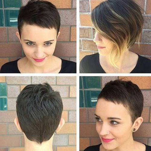 Pixie Haircut With Heart Face Shape Girl Short Hairstyles Inside Well Known Pixie Haircuts For Heart Shaped Face (View 13 of 20)