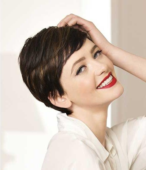 Pixie Haircuts For 2014 –  (View 9 of 20)