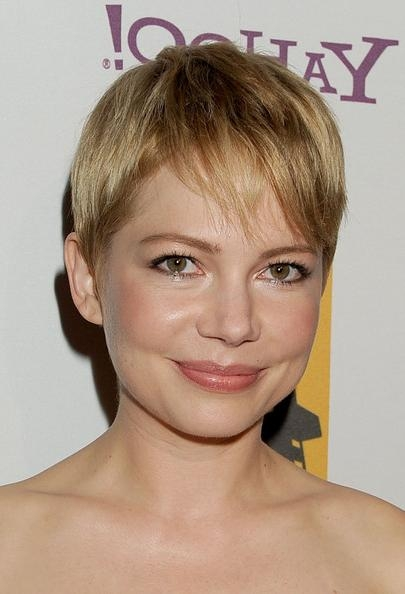 Pixie Haircuts Photo Gallery 2018 In Popular Celebrities Pixie Haircuts (View 4 of 20)