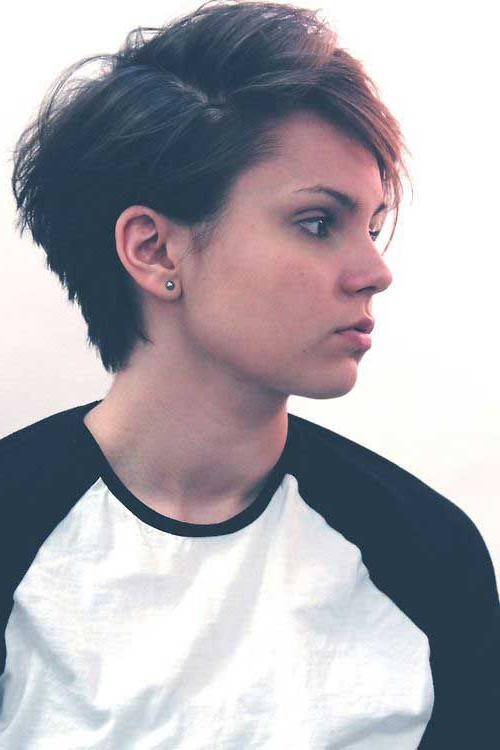Pixie Haircuts, Short With Most Recently Released Pixie Haircuts For Men (View 16 of 20)