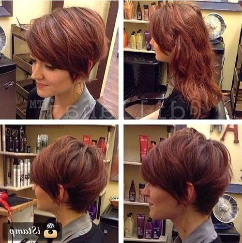 Pixie Hairstyles With Recent Short Stacked Pixie Haircuts (View 14 of 20)