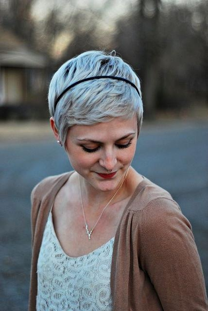 Pixie Headband For Favorite Pixie Haircuts With Headband (View 10 of 20)