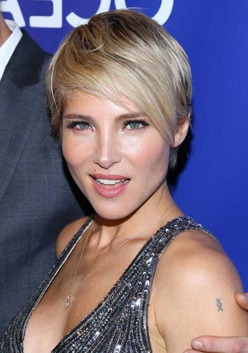 Popular Celebrities Pixie Haircuts Intended For Celebrities With Pixie Haircuts (View 16 of 20)