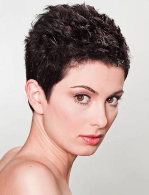Popular Cute Short Pixie Haircuts Regarding Pixie Haircuts – 30 Hottest, Cute Unique Pixie Haircuts For Women (View 15 of 20)