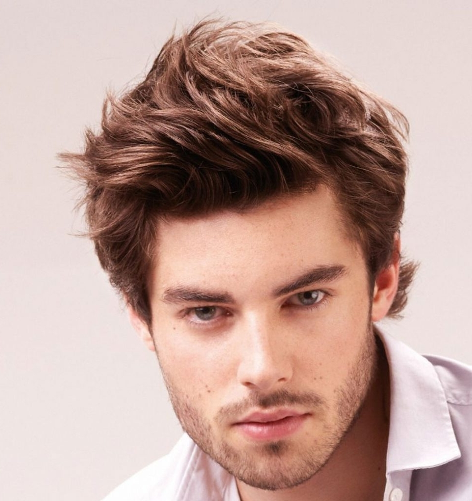 Popular Men's Shaggy Hairstyles With Regard To Men Hairstyle : Straight Hairstyle For Men Mens Medium Shaggy (View 15 of 15)
