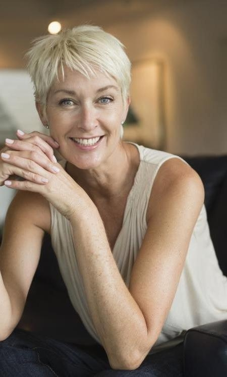 Popular Pixie Haircuts For Older Ladies Throughout 2017 Short Haircuts For Women Over 50 – Page 2 – Haircuts And (View 15 of 20)
