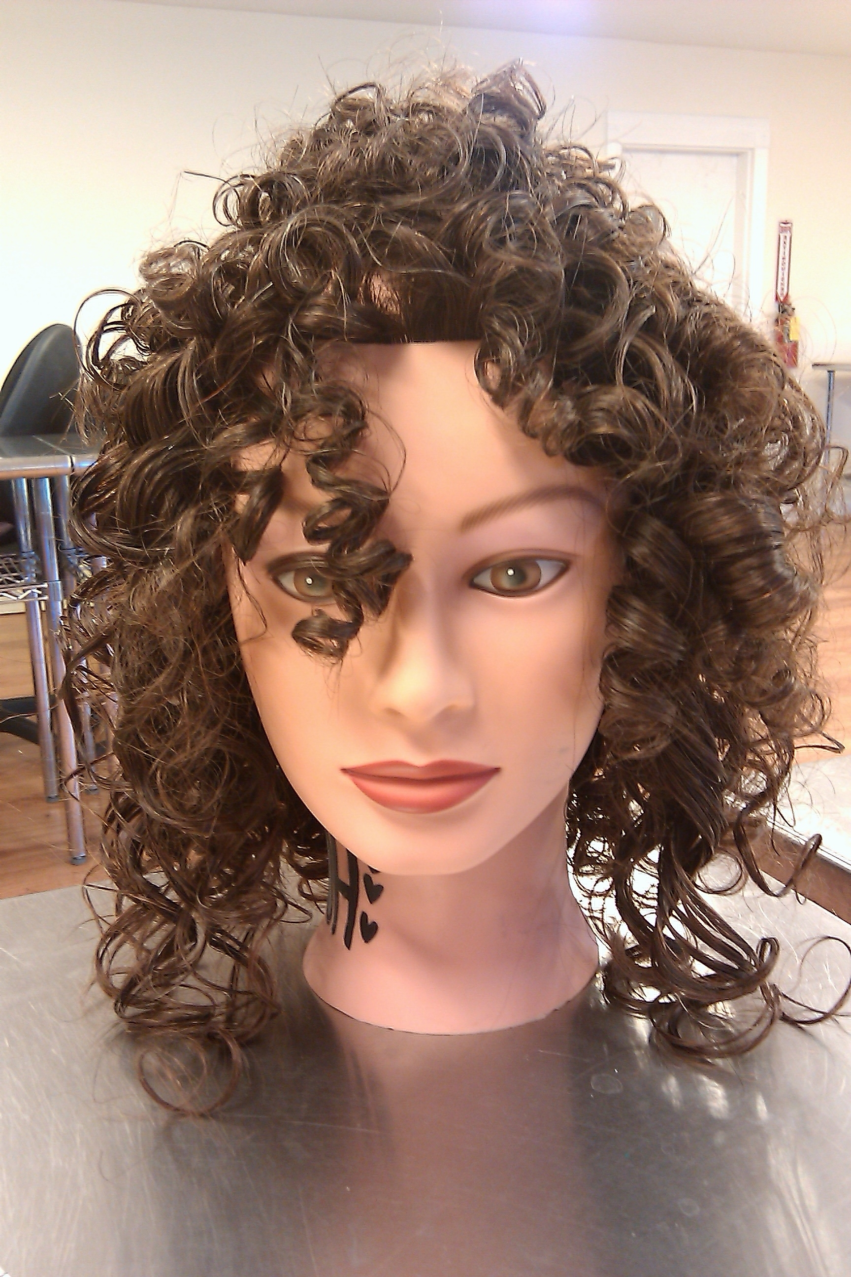 Popular Shaggy Perm Hairstyles Inside Curly Curls Aka Perms! (View 11 of 15)