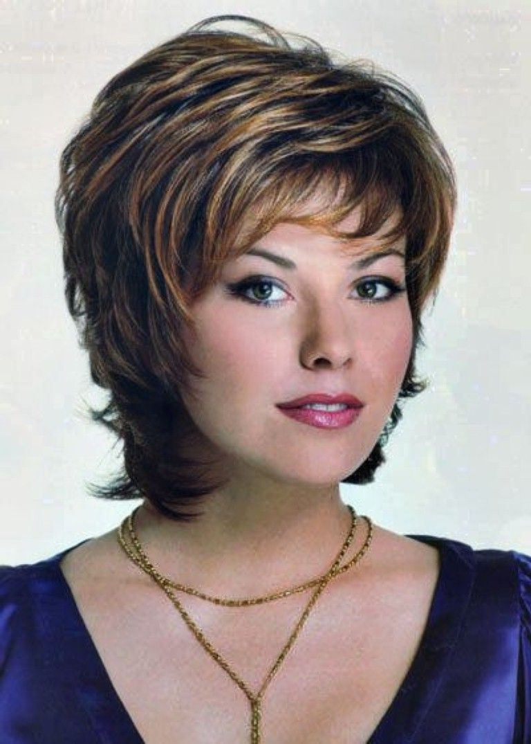 Popular Short Shaggy Haircuts With Regard To Shag Haircuts For Women Over (View 12 of 15)