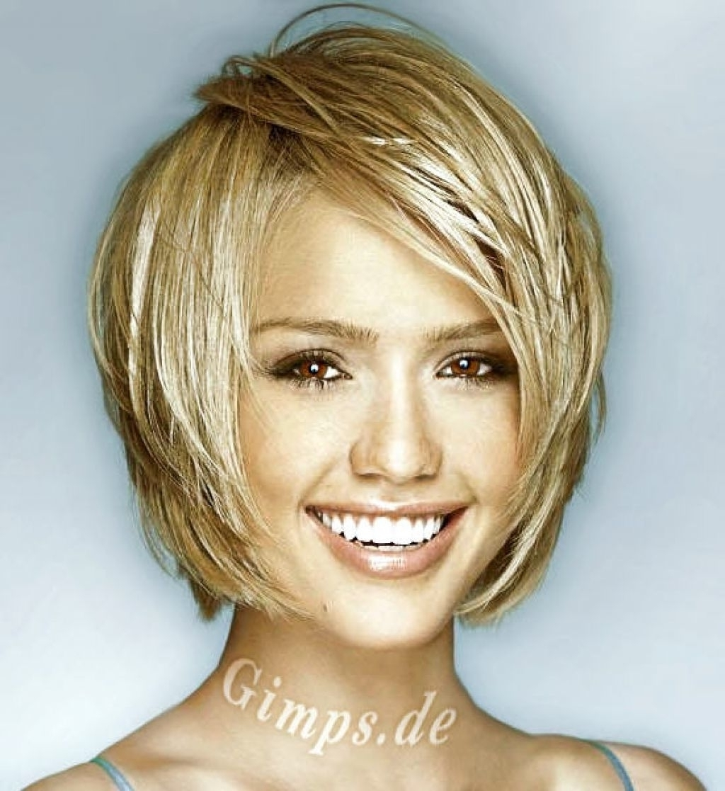 Popular Short Shaggy Hairstyles For Round Faces With Short Hairstyles For Fine Hair And Round Face (View 15 of 15)