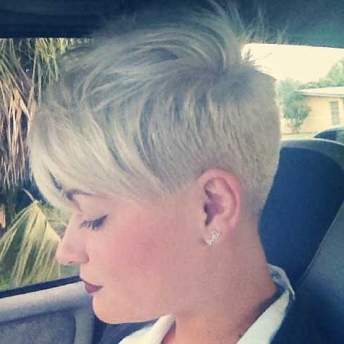 Popular Super Short Pixie Haircuts For Round Faces Inside 25 Short Hairstyles For Round Faces (View 13 of 20)