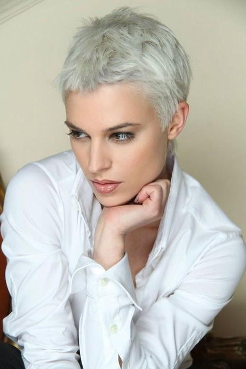 Popular Very Short Textured Pixie Haircuts Pertaining To 30 Very Short Pixie Haircuts For Women (View 10 of 20)