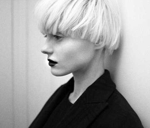 Preferred Blunt Pixie Haircuts Regarding 50 Best Short Blonde Hairstyles 2014 –  (View 16 of 20)