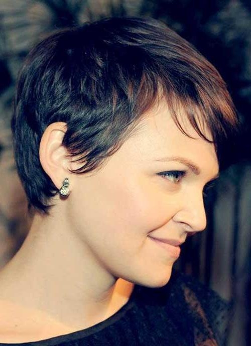Preferred Brown Pixie Haircuts For 20 Brown Pixie Cuts (View 14 of 20)