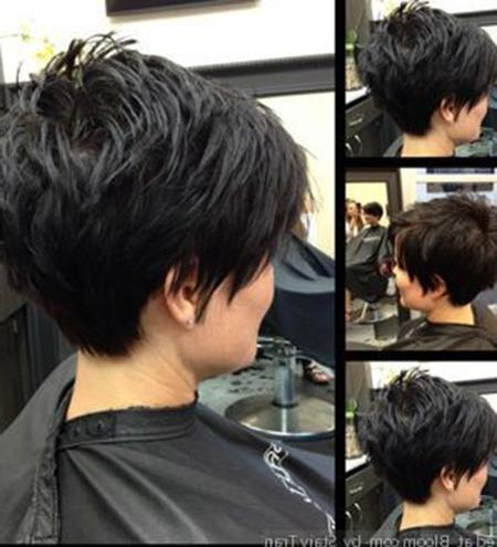 Preferred Chic Pixie Haircuts Intended For Chic Pixie Hairstyles (View 13 of 20)
