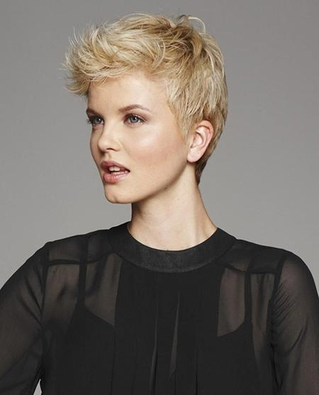 Preferred Cool Pixie Haircuts Within Great Pixie Cuts  (View 13 of 20)