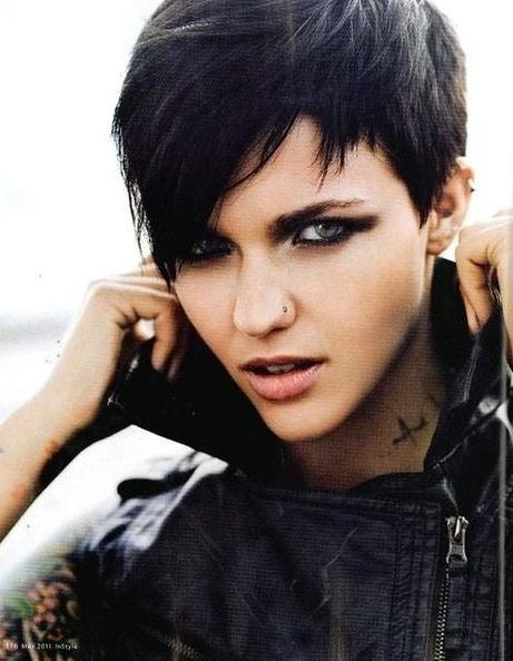Preferred Edgy Pixie Haircuts Pertaining To Photo Gallery Of Short Edgy Girl Haircuts (Viewing 13 Of 15 Photos) (View 17 of 20)