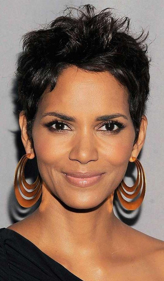 Preferred Pixie Haircuts For Black Hair Inside 15 Amazing Pixie Haircuts For Black Women (View 17 of 20)