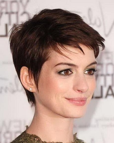 Preferred Pixie Haircuts For Dark Hair Intended For Pixie Haircuts Dark Hair – Find Hairstyle (View 12 of 20)