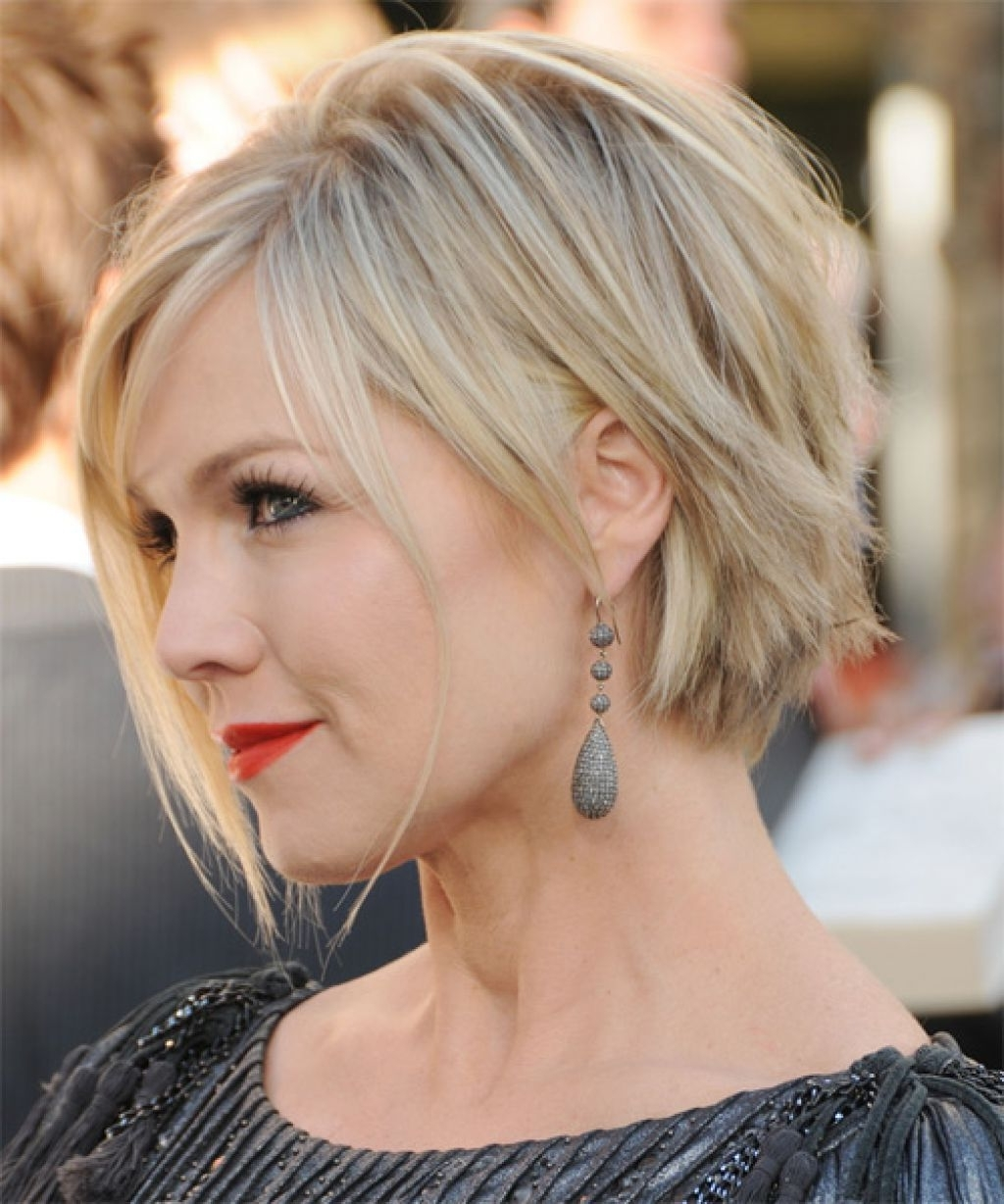 Preferred Shaggy Crop Hairstyles Pertaining To Jennie Garth New Short Haircut (View 14 of 15)