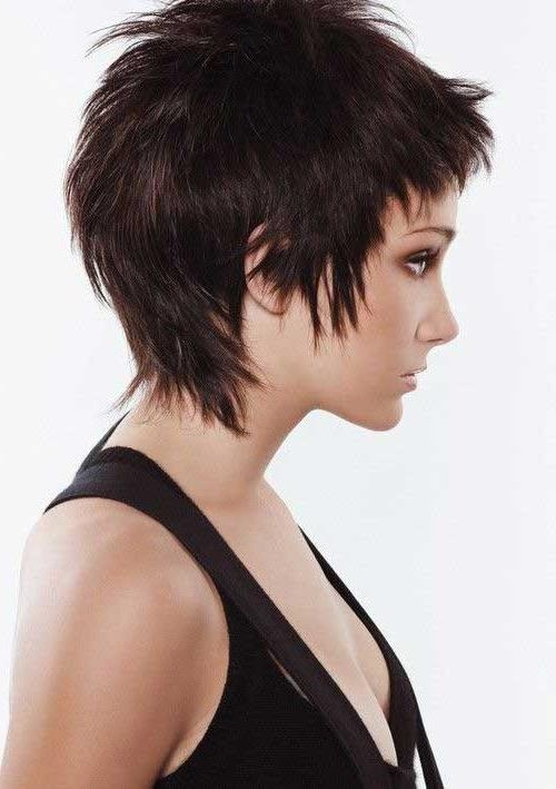 Preferred Short Feathered Pixie Haircuts Pertaining To 30 Short Layered Haircuts 2014 – (View 2 of 20)