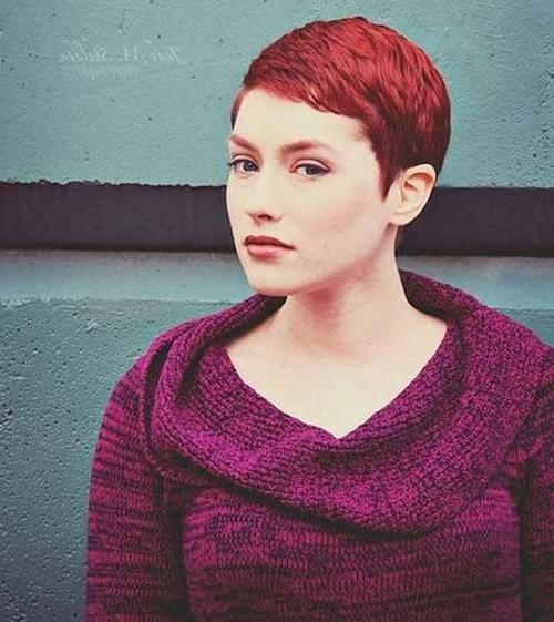 Preferred Short Red Pixie Haircuts Throughout 10 Ladies Pixie Haircuts (View 9 of 20)