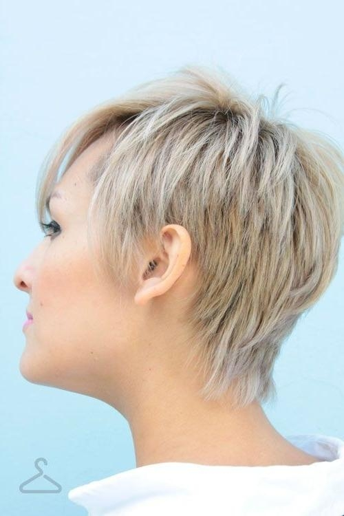Preferred Side And Back View Of Pixie Haircuts Within 2014 Summer Hairstyles: Short Haircuts Side View – Popular Haircuts (View 17 of 20)