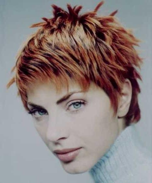 Preferred Spiky Pixie Haircuts For 20+ Short Spiky Pixie Cuts (View 12 of 20)