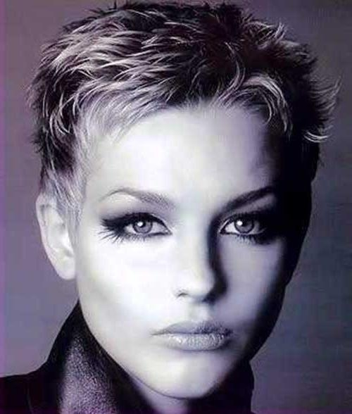Preferred Very Short Textured Pixie Haircuts Pertaining To 25 Very Short Pixie Cuts (View 11 of 20)