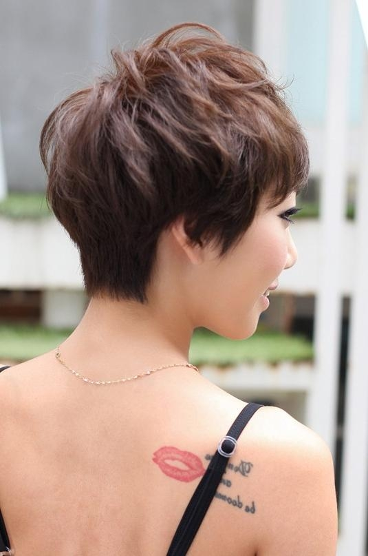 Pretty Pin Curl Pixie Cut – Hairstyles Weekly Throughout Most Up To Date Japanese Pixie Haircuts (View 12 of 20)