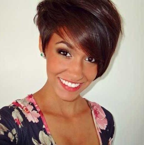 Really Trendy Asymmetrical Pixie Cut (View 16 of 20)