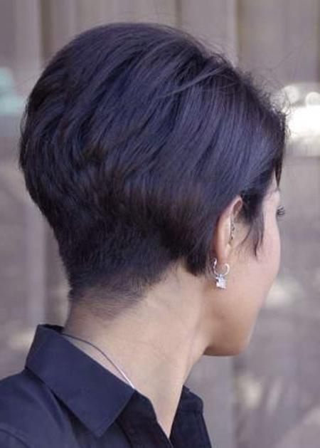 Recent Back View Of Pixie Haircuts Inside Back View Of Short Haircuts (View 15 of 20)