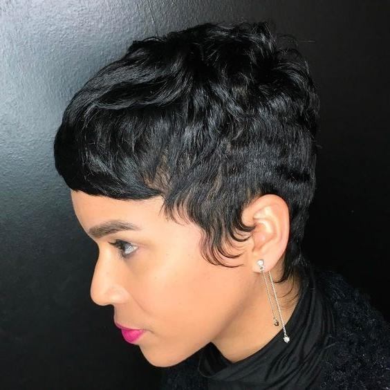 Recent Black Girl Pixie Haircuts With 5 Short Pixie Haircuts For African American Girls – Cruckers (View 11 of 20)