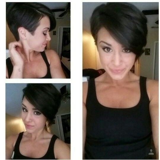 Recent Bob And Pixie Haircuts With Regard To 59 Best Pixie Cut Hairstyles Images On Pinterest (View 15 of 20)