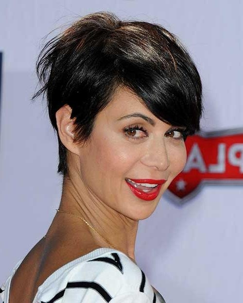 Recent Brunette Pixie Haircuts For 14 Great Brunette Pixie Hairstyles (View 16 of 20)