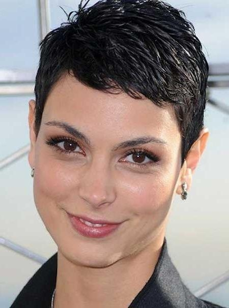 Recent Extremely Short Pixie Haircuts Within Very Short Pixie Hairstyles For Women Pic 4 : 8 Very Short Pixie (View 14 of 20)
