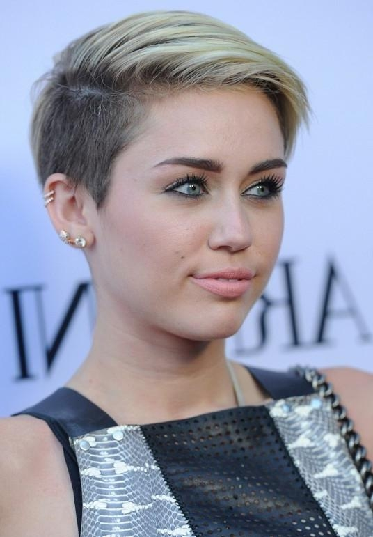 Recent Miley Cyrus Pixie Haircuts Inside Miley Cyrus Haircut Style Miley Cyrus Hairstyles Celebrity Latest (View 14 of 20)