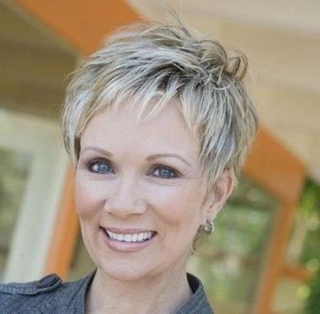 Recent Pixie Haircuts For Women With Thick Hair With Regard To Short Pixie Haircuts For Women Over 50 (Gallery 16 of 20)