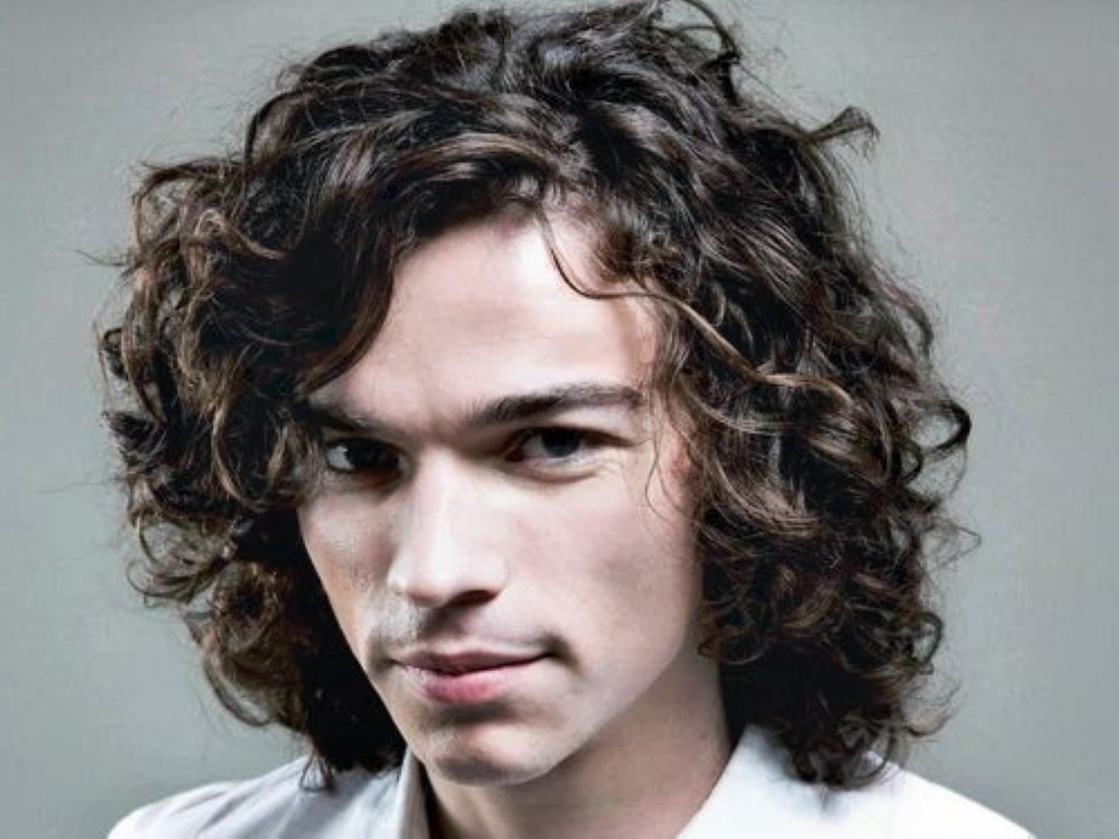 Recent Shaggy Hairstyles For Long Curly Hair Inside Curly Hairstyles For Men 2017 – Registaz (View 4 of 15)