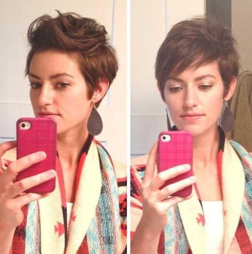 Recent Styling Pixie Haircuts Inside Best 25+ Black Pixie Cut Ideas On Pinterest (View 6 of 20)