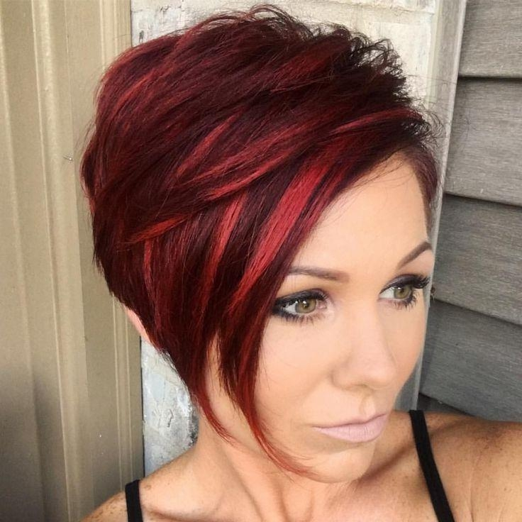 Red Hair Pixie Cut (View 2 of 20)