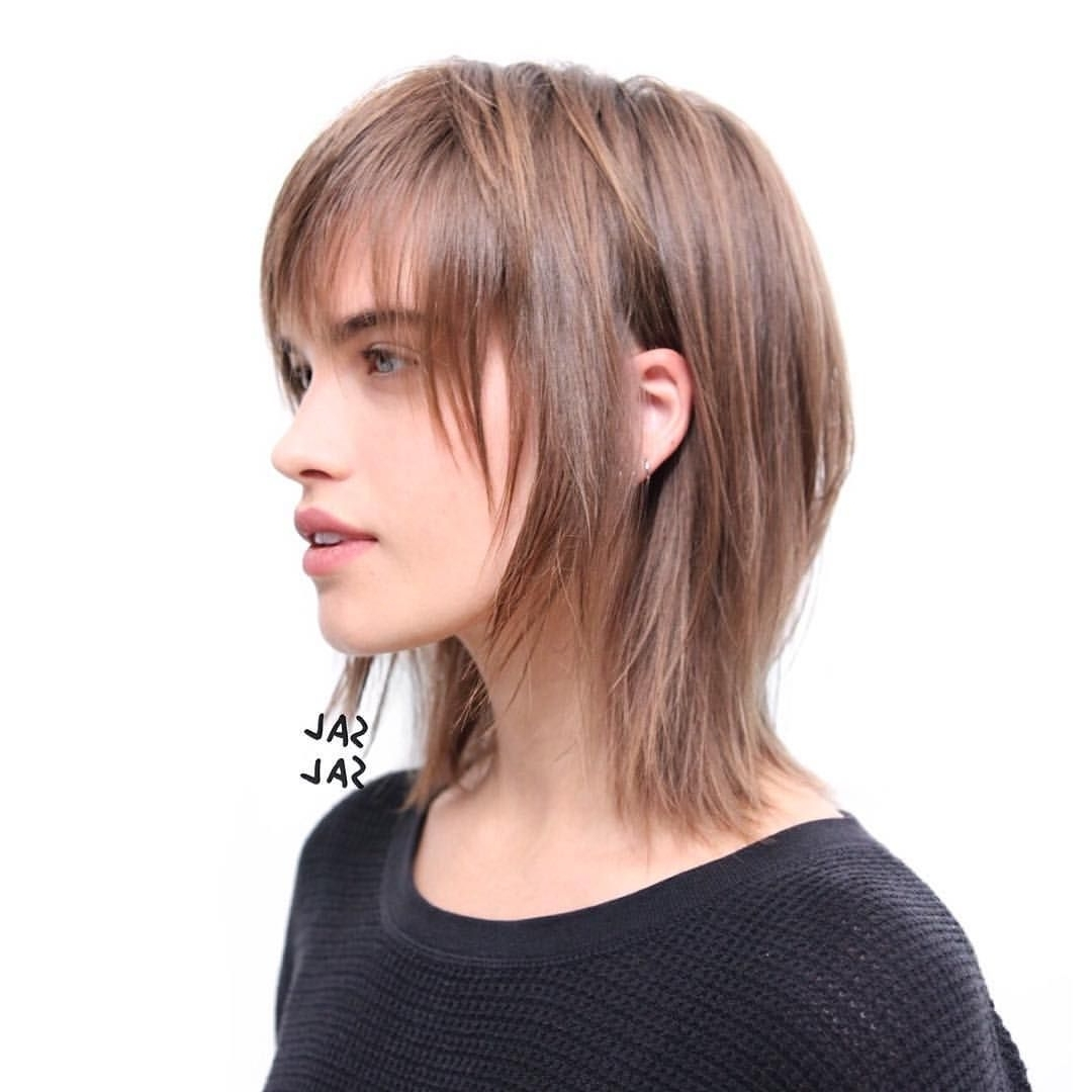 "Sal Salcedo On Instagram: ""the Shaggy Mullet On Muse @stormibree Throughout Newest Shaggy Mullet Hairstyles (View 4 of 15)"